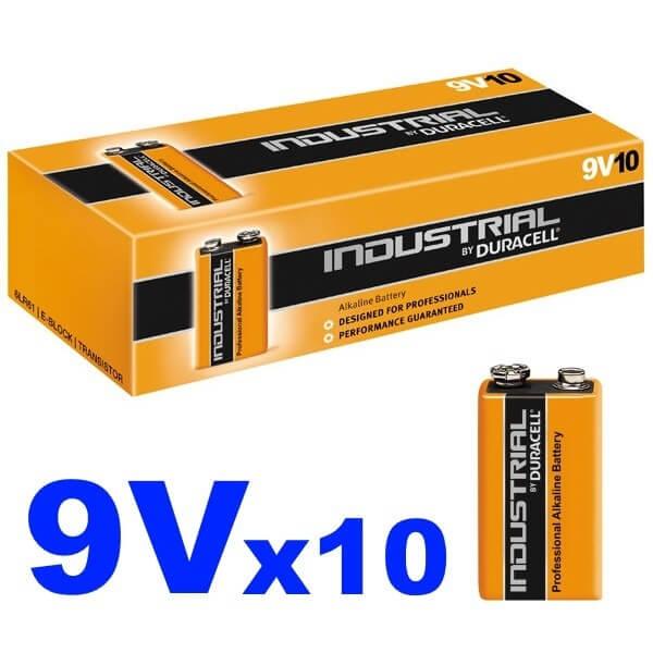 duracell procell 9v batteries box of 10 bulk pack 9 volt pp3 alkaline battery nh maintenance. Black Bedroom Furniture Sets. Home Design Ideas